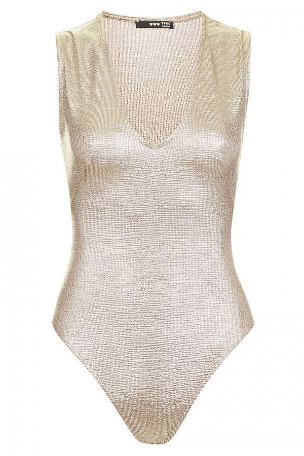 TFNC Alice Gold Bodysuit