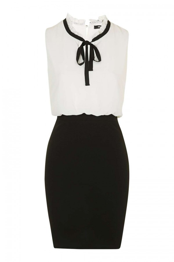 TFNC Camila Black Dress