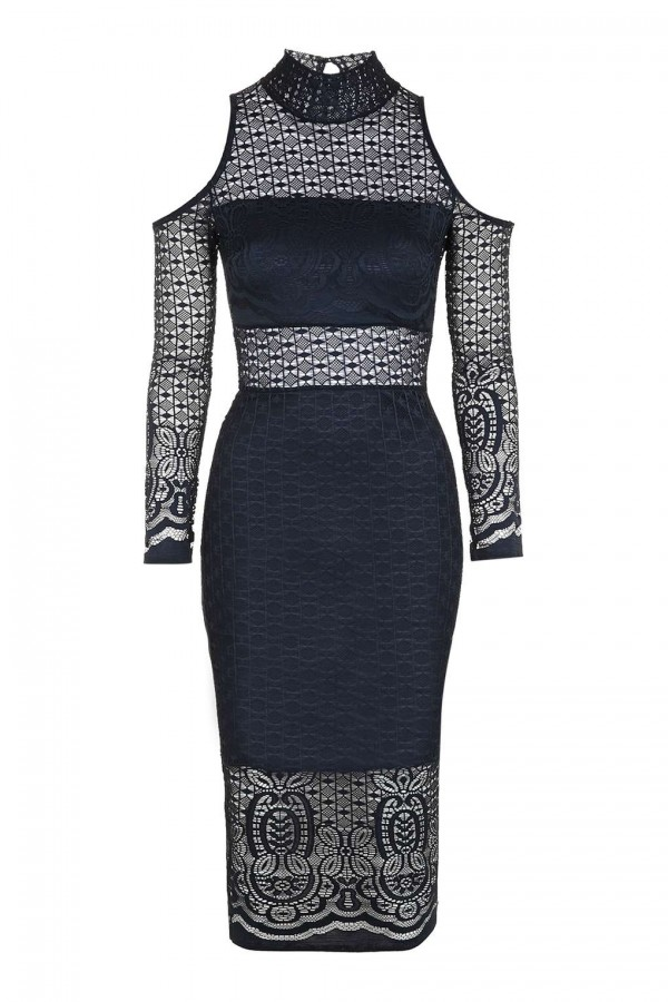 TFNC Sahara Navy Dress
