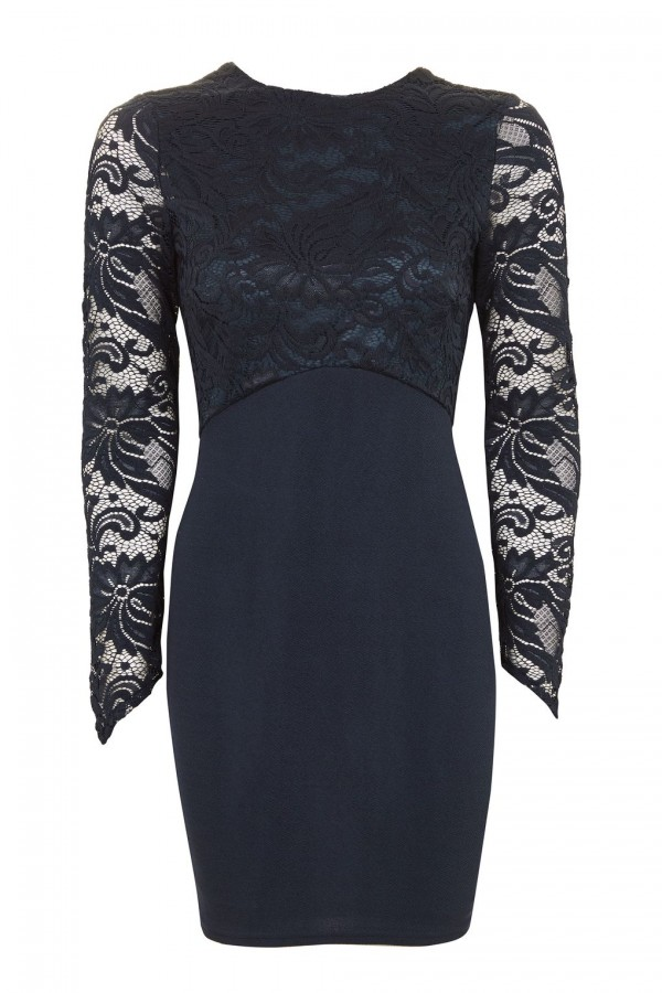 TFNC Seraphina Navy Dress