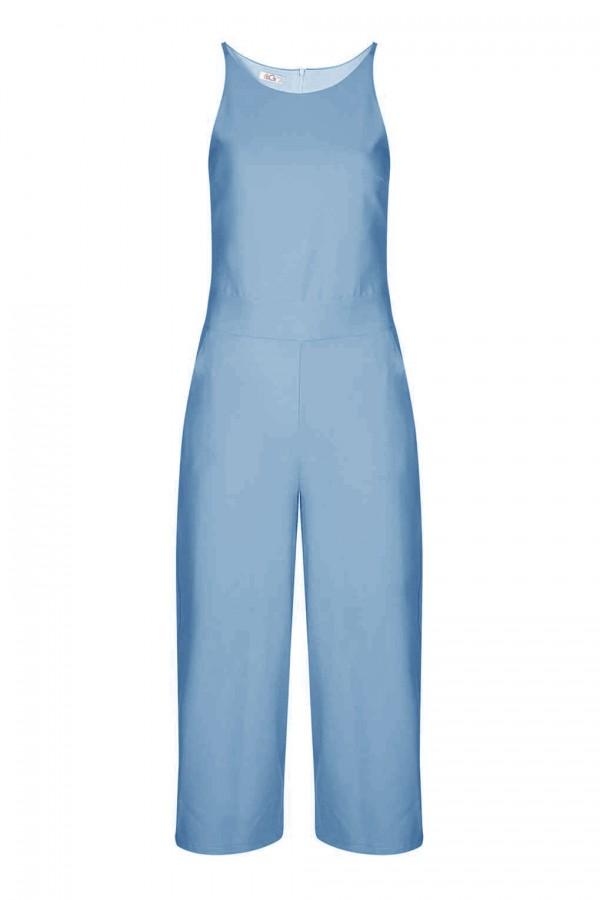 WalG Culottes Blue Jumpsuit