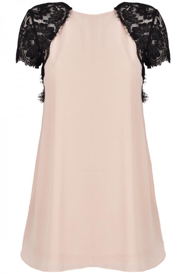 TFNC Lava Lace Swing Dress