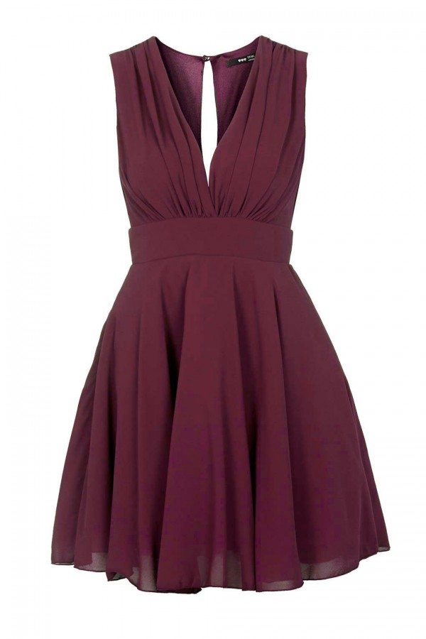 TFNC Nordi Wine Dress
