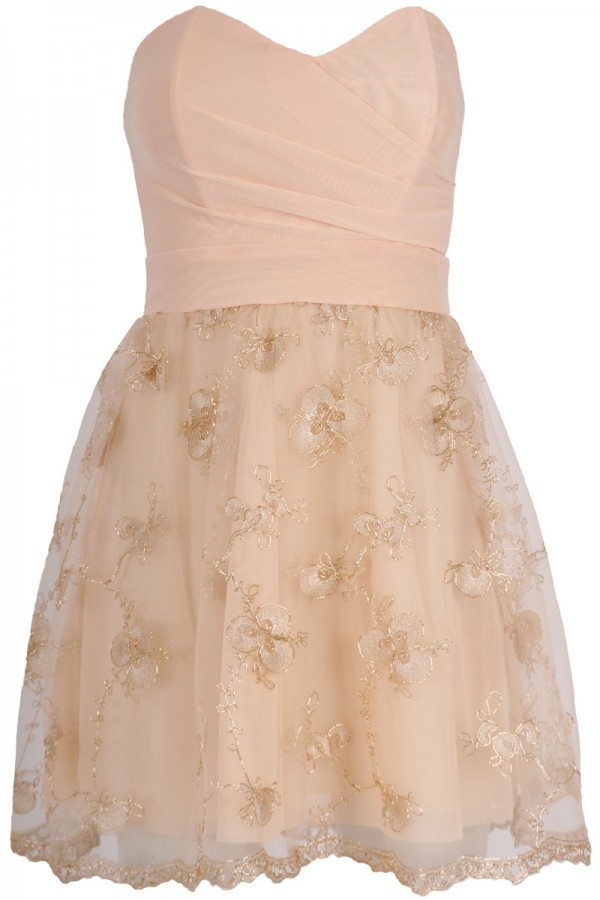 TFNC Lilabis Embroidered Prom Dress