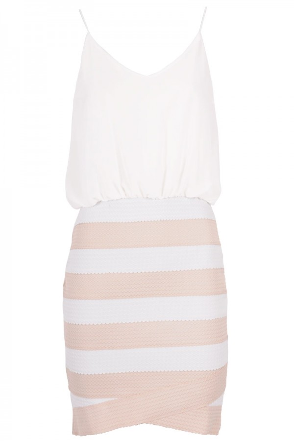 TFNC Carla Stripe Dress