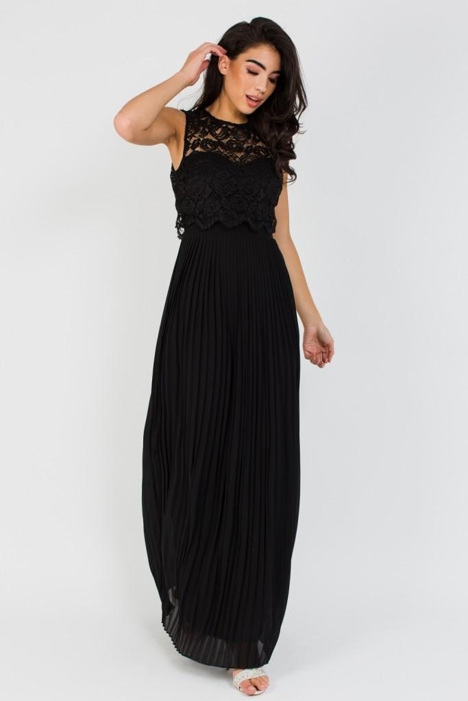Tfnc Camden Black Maxi Dress Tfnc Maxi Dresses