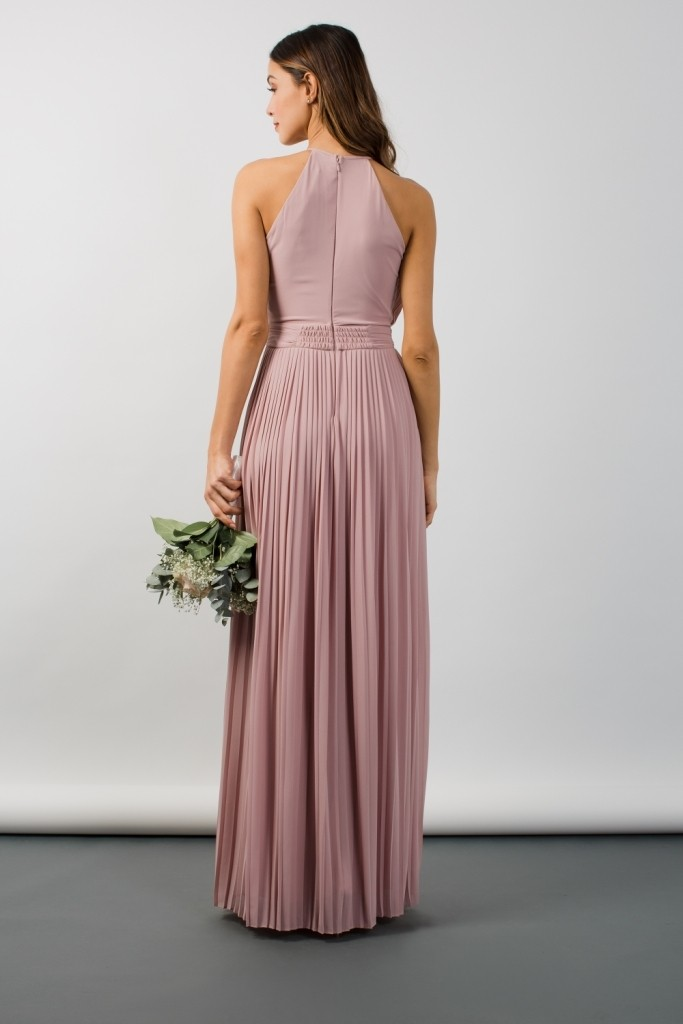 Tfnc Serene Mauve Maxi Dress Tfnc Party Dresses