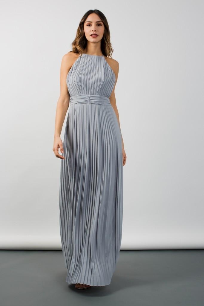 Tfnc Serene Light Blue Maxi Dress Tfnc Party Dresses