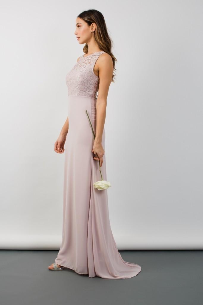 Tfnc Nais Mink Maxi Dress Tfnc Party Dresses