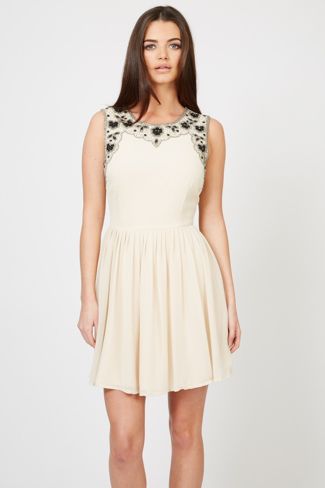 lace becky beige dress party dresses