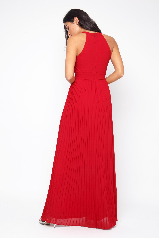 Tfnc Prague Red Maxi Dress Tfnc Party Dresses
