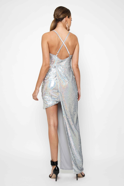d2b0a6e8 TFNC SHAINA RAIMBOW SEQUIN MAXI DRESS | TFNC PARTY DRESSES
