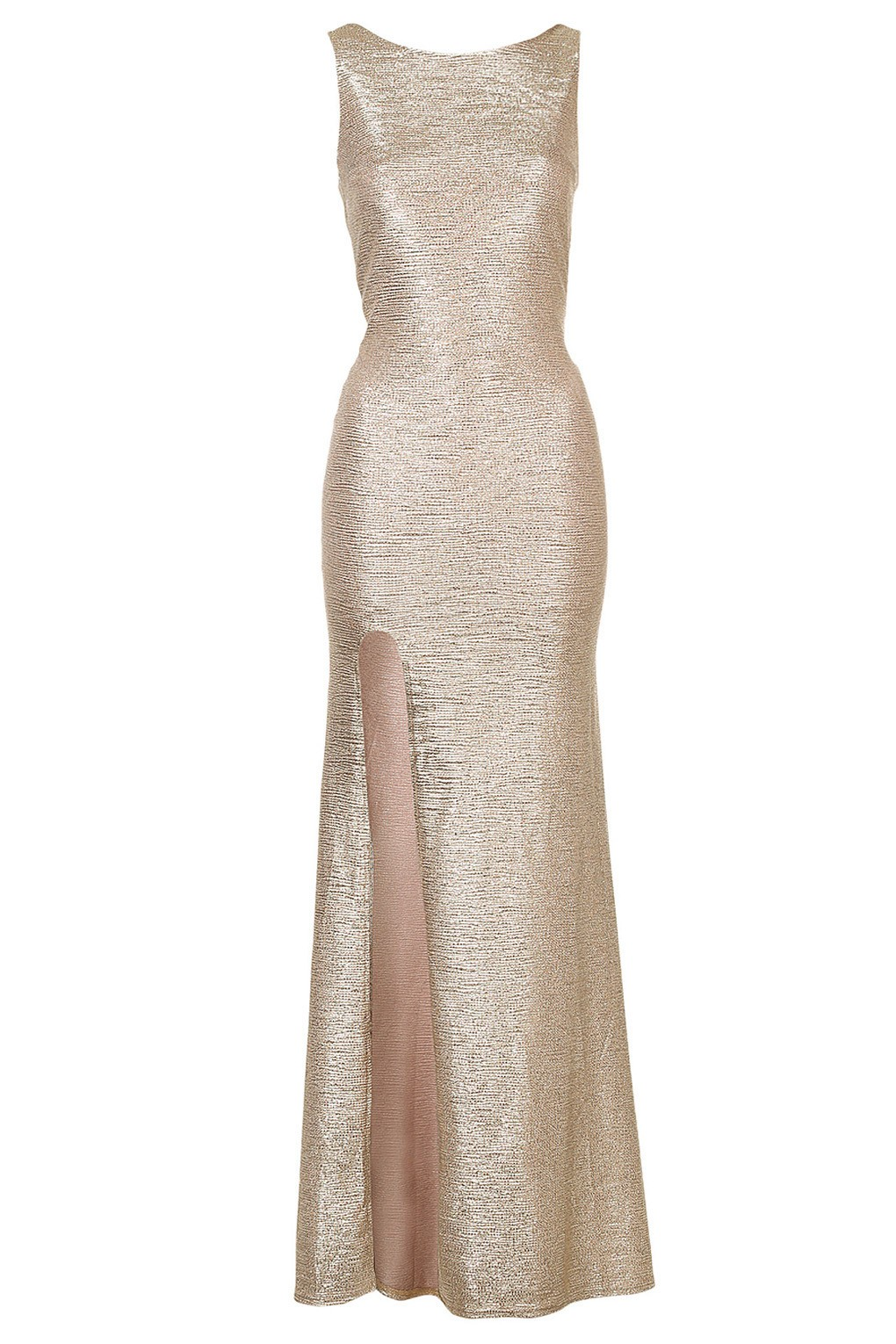 Tfnc Fatima Gold Maxi Dress Tfnc Maxi Dresses