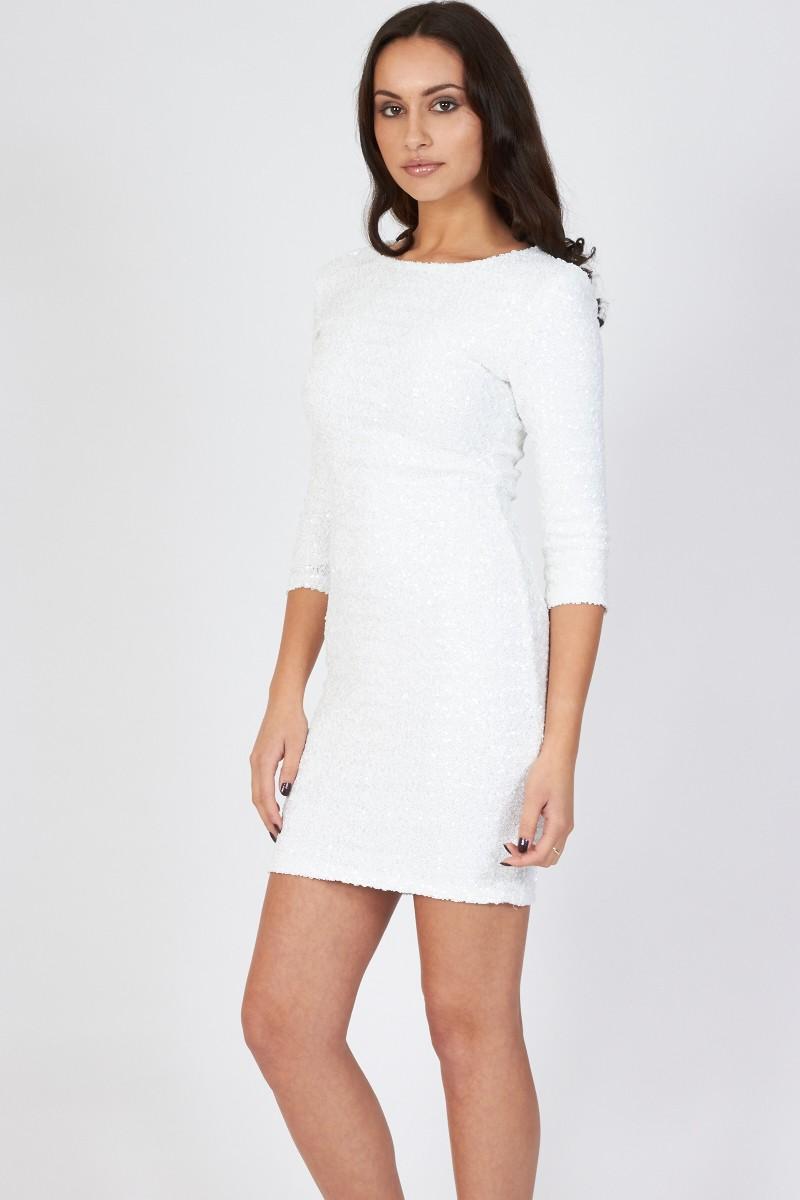 TFNC Paris Sequin Dress | PARTY DRESSES