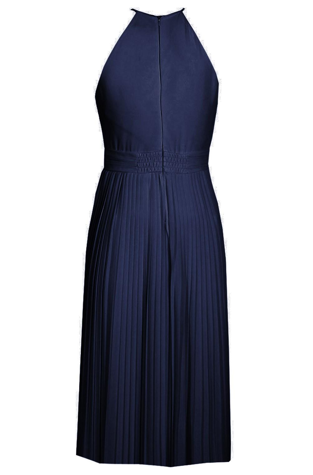 Tfnc Serene Navy Midi Dress Tfnc Party Dresses