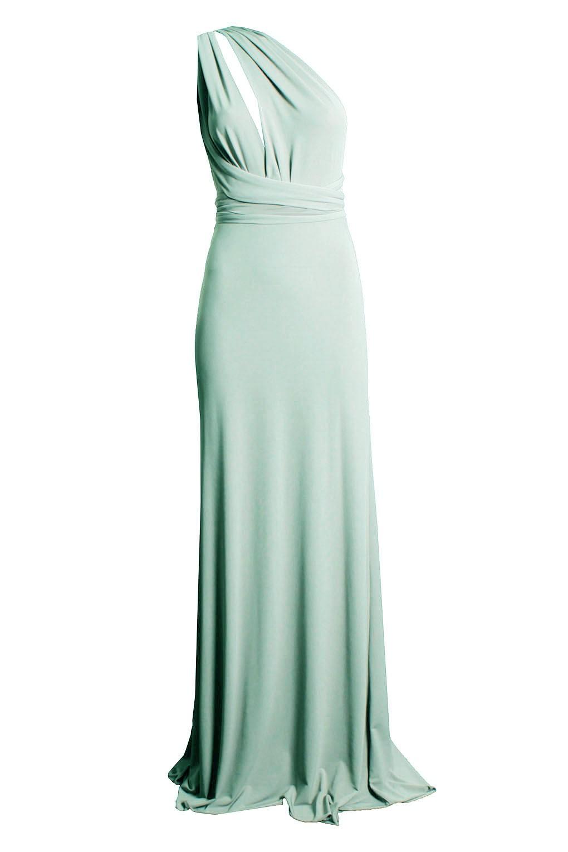 TFNC MULTI WAY MINT MAXI DRESS   TFNC PARTY DRESSES