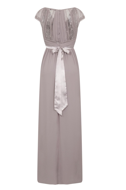 Tfnc Hollyn Lavender Fog Maxi Dress Tfnc Maxi Dress