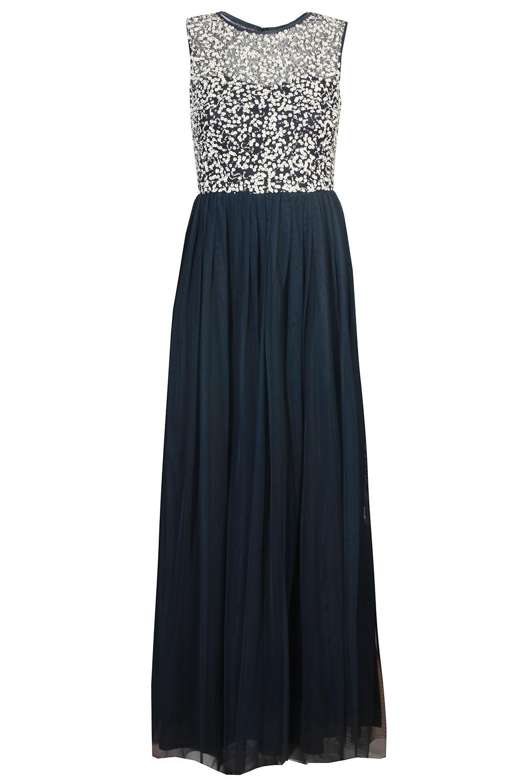 lace beads belle navy maxi dress party dresses. Black Bedroom Furniture Sets. Home Design Ideas