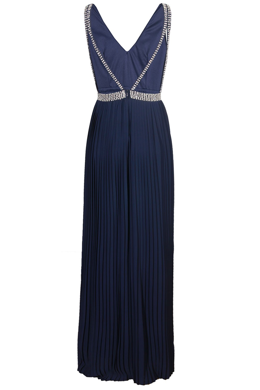 cd048204550e TFNC DANAE NAVY MAXI EMBELLISHED DRESS | TFNC PARTY DRESSES