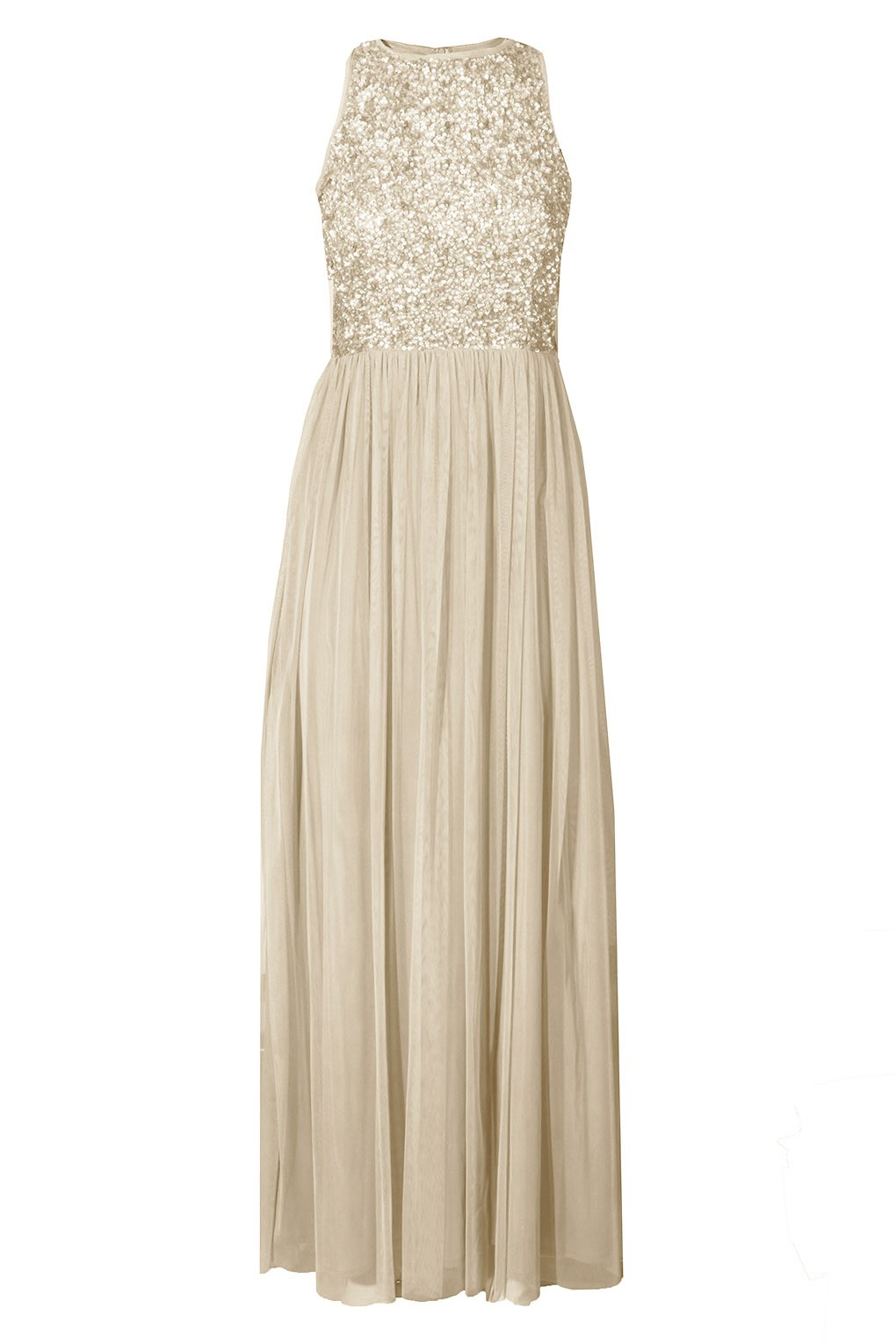 LACE   BEADS PICASSO CREAM EMBELLISHED MAXI DRESS  12e8159f7