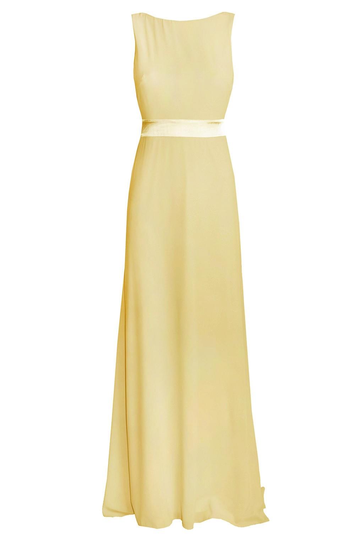 Tfnc Halannah Yellow Maxi Dress Tfnc Party Dresses