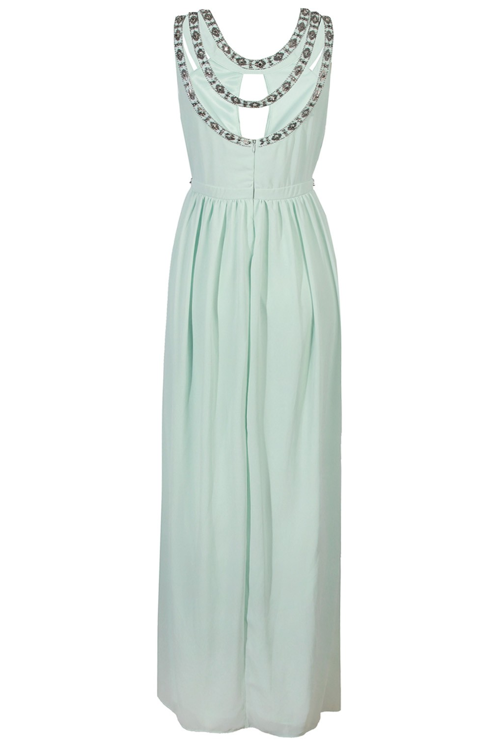 TFNC RIO MINT MAXI EMBELLISHED DRESS | TFNC PARTY DRESSES