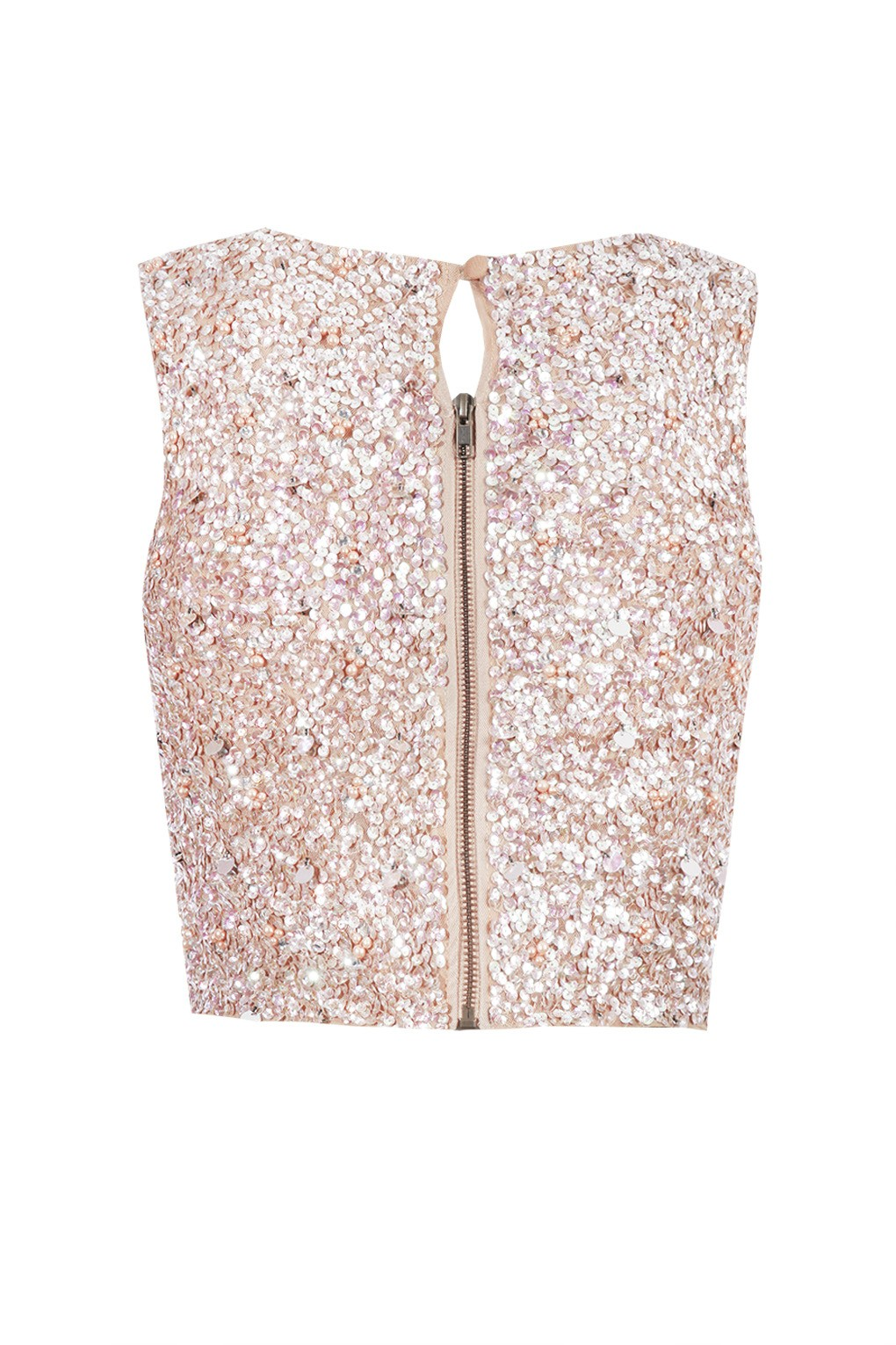 lace u0026beads picasso pink sequin top