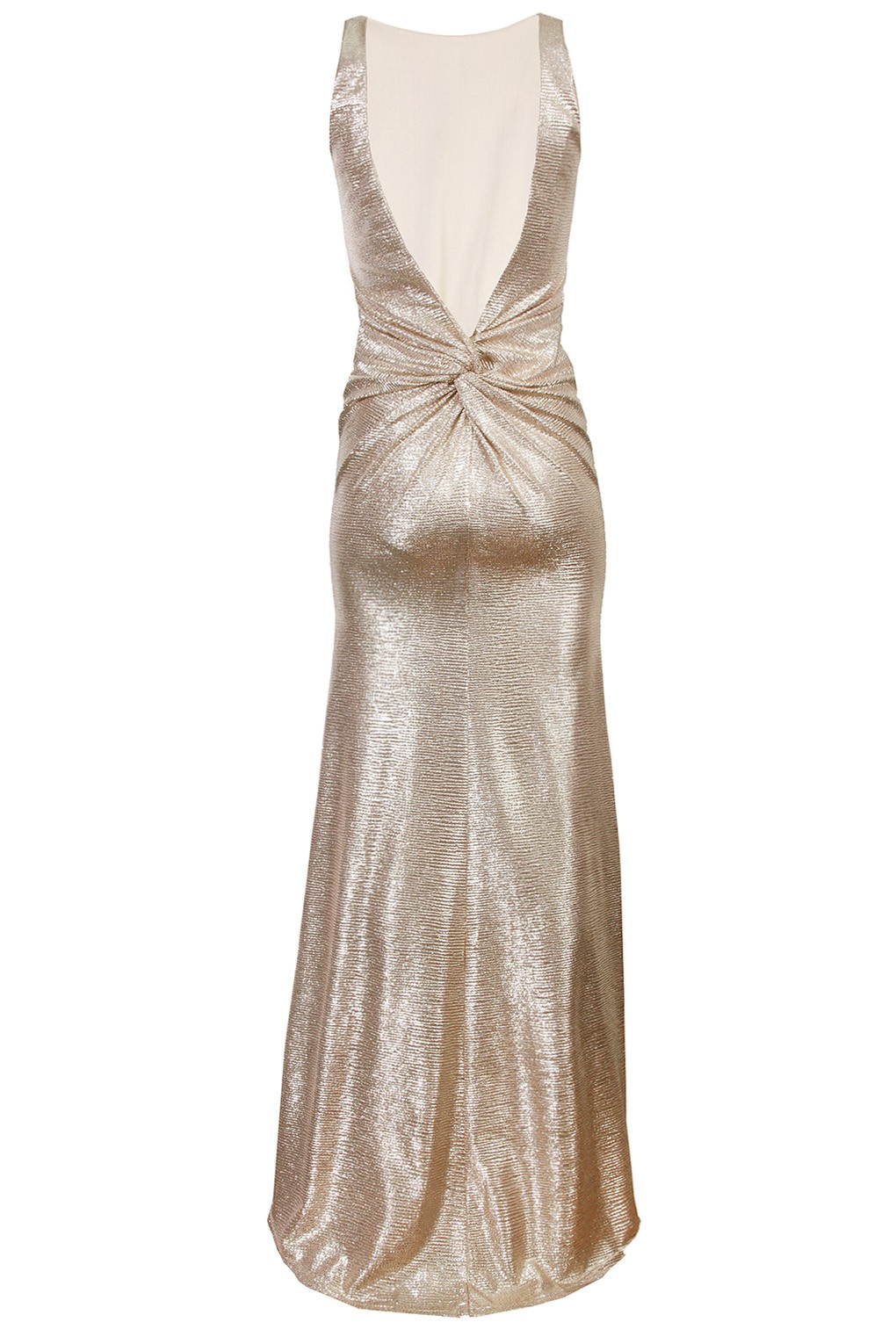 Tfnc white and gold dress