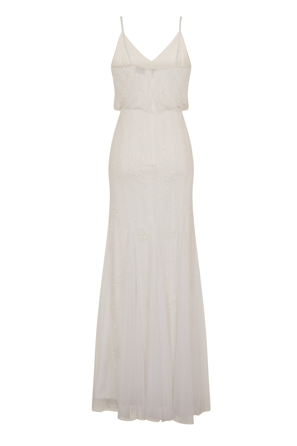 Lace Amp Beads Keeva White Maxi Dress Lace Amp Beads Party Dress