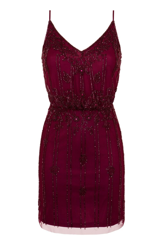 Lace Amp Beads Keeva Burgundy Mini Dress Lace Amp Beads Party Dress