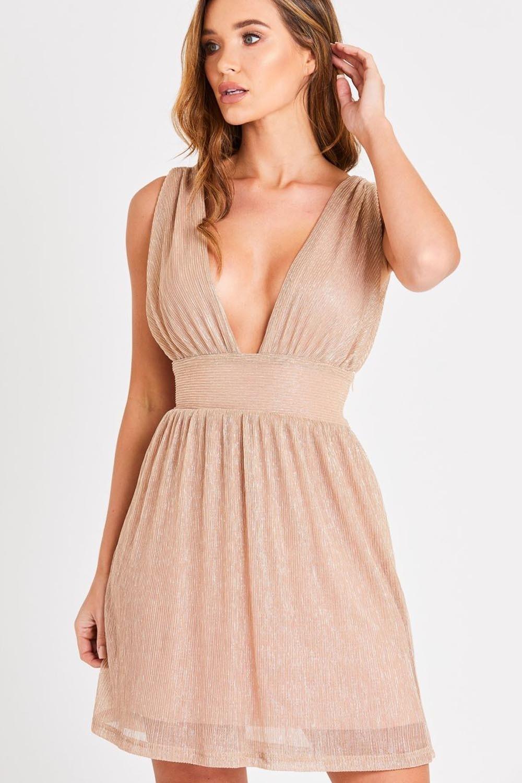 Skirt Amp Stiletto Maya Rose Gold Mini Dress Skirt