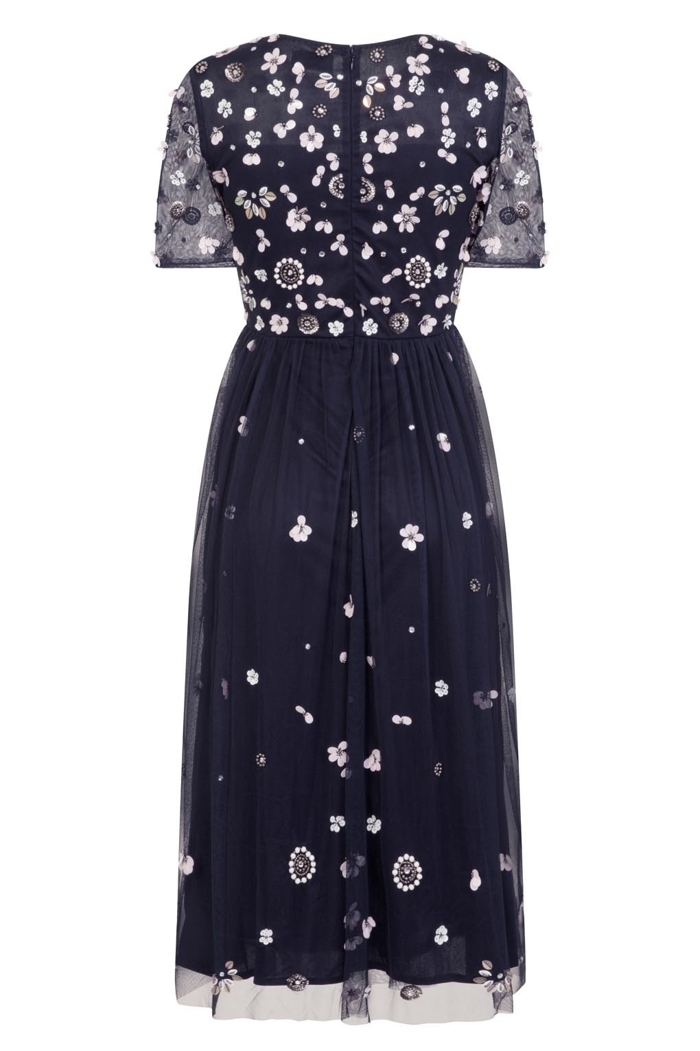 lace beads baby navy dress lace beads dress. Black Bedroom Furniture Sets. Home Design Ideas