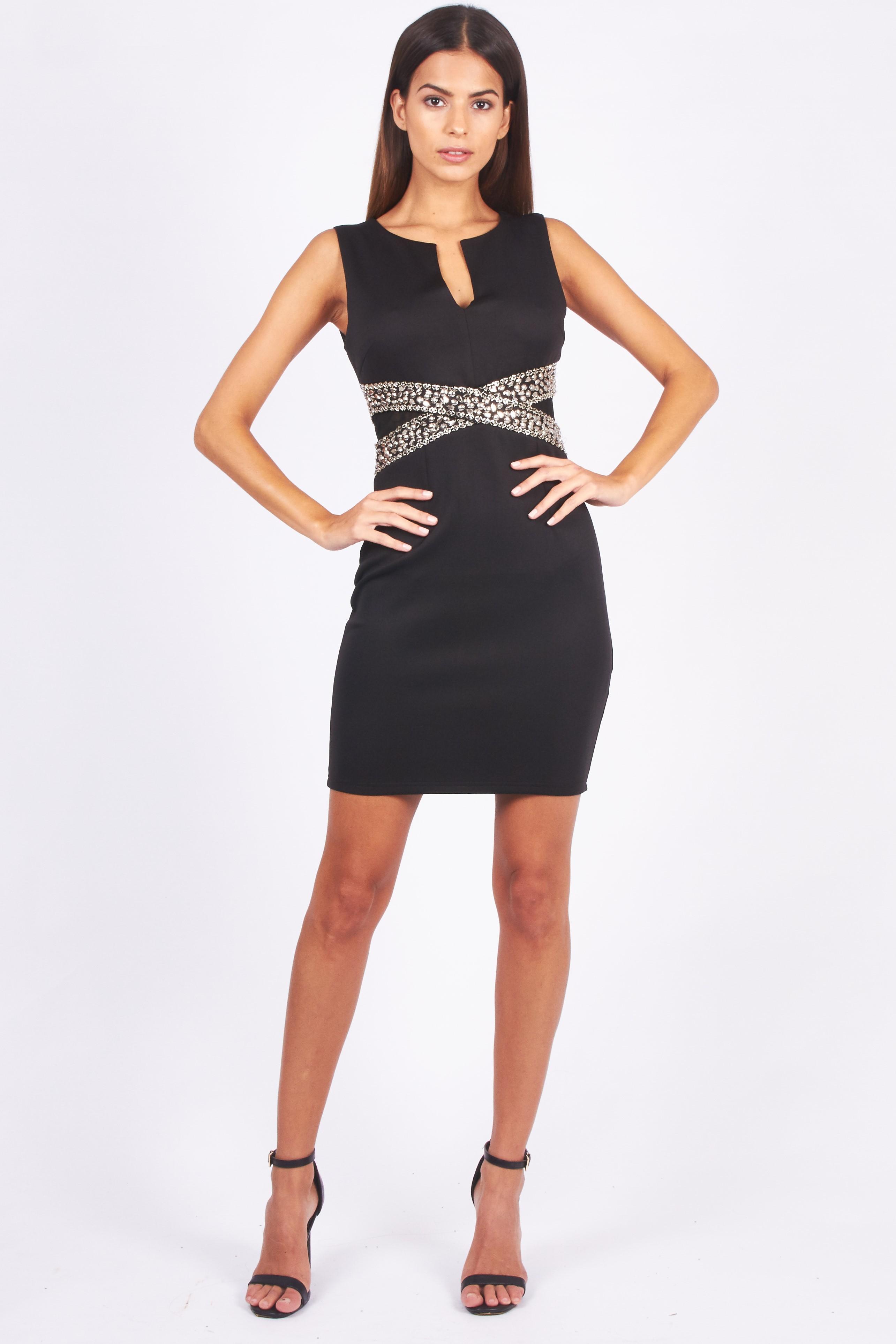 tfnc nilia black mini dress tfnc party dresses. Black Bedroom Furniture Sets. Home Design Ideas
