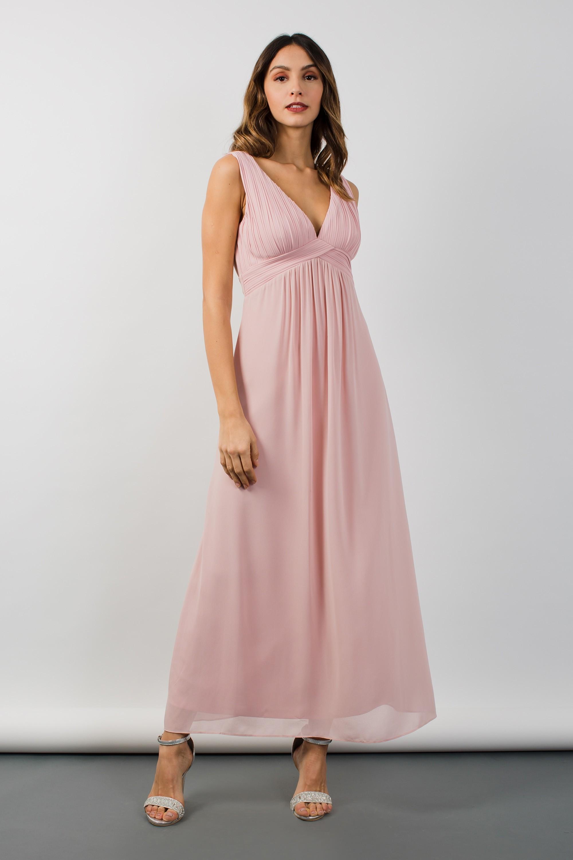 TFNC VALERIE PEARL PINK MAXI DRESS | TFNC PARTY DRESSES