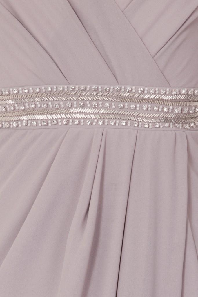 Tfnc Violet Grey Maxi Embelished Dress Tfnc Party Dresses
