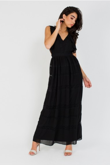 TFNC Claiborne Black Maxi Dress