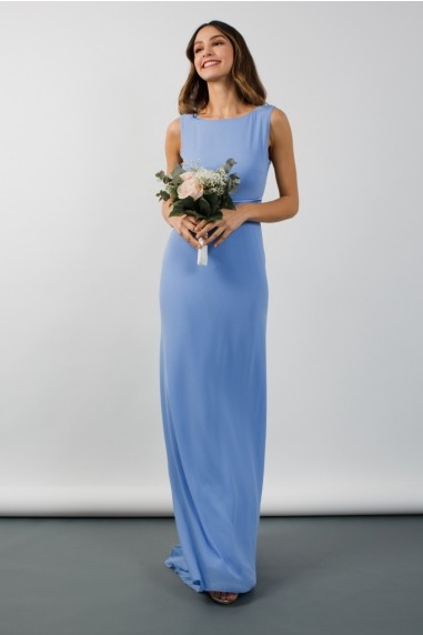 TFNC Evelina Blue Bell Maxi Dress