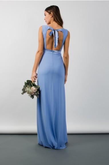 TFNC Evelina Blue Bell Maxi Dress