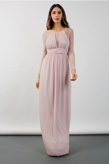 TFNC Fable Mink Maxi Dress
