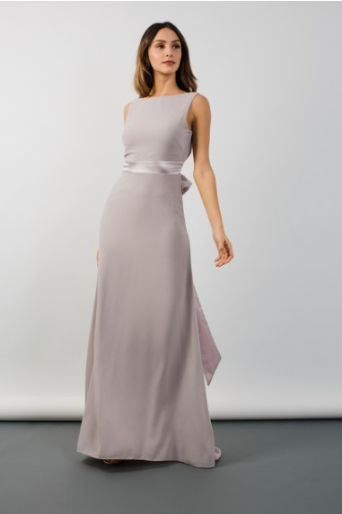 f445b48b9304 TFNC Halannah Lavender Fog Grey Maxi Dress