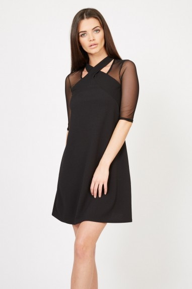 TFNC Leona Bis Black Dress