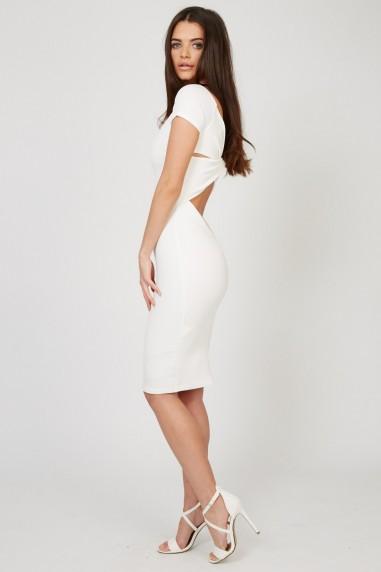 TFNC Shela White Dress