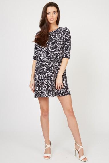 TFNC Louise Navy Dress