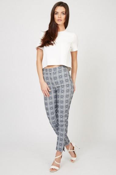 TFNC Orson Print Trousers