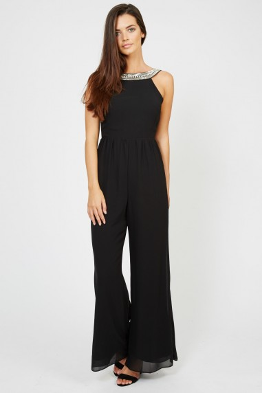 TFNC Riccocone Black Jumpsuit