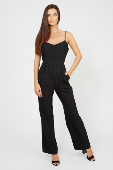 TFNC Suzi Black Jumpsuit