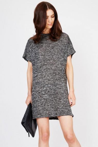 WalG Grey Marl Shift Dress