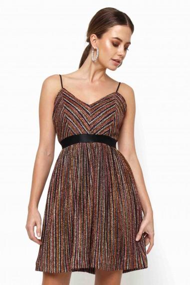TFNC Poupees Multi Mini Dress
