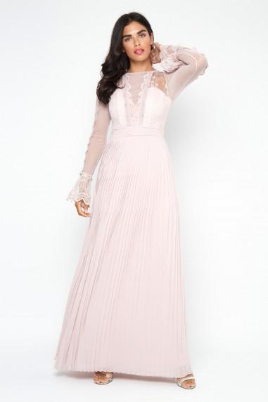 TFNC Isaliya New Mink Maxi Dress