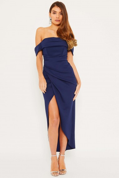 TFNC Grace Navy Midi Dress